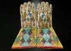 plains indians gloves