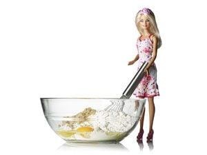 barbie cooking