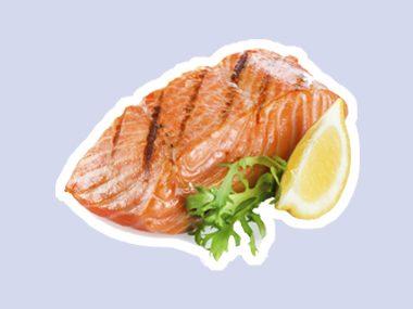 Eat wild salmon.