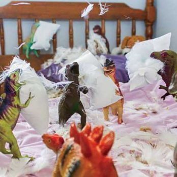 When Two Awesome Parents Made the Dinosaurs Go Wild!