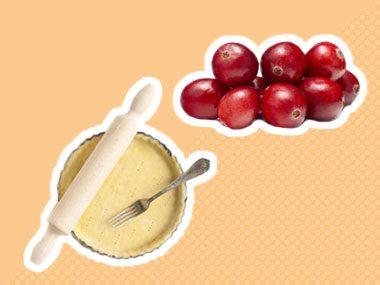 Secret Ingredient for tarts: cranberries
