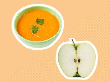 Secret ingredient for soup: apples