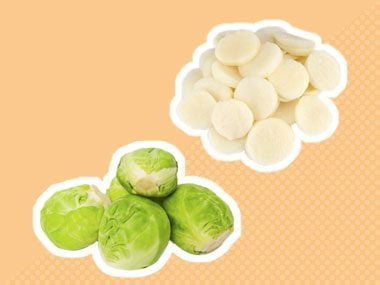 Secret ingredient for Brussels sprouts: water chestnuts