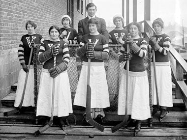 Here's What Women Used to Wear to Play Sports