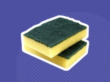 Your kitchen cloth or sponge