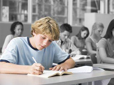 Why do public school parents always ask about socialization?