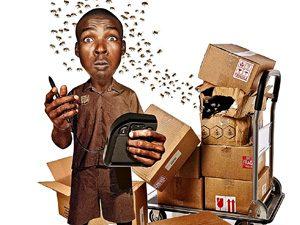 UPS handler