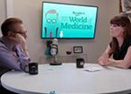 liz vaccariello with larry king talking heart tests