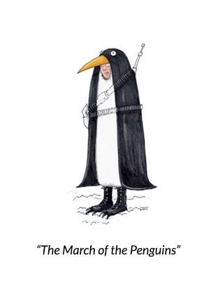 teresa-burns-parkhurst-cartoon-penguin-solcier