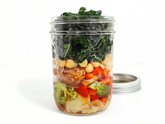 Hearty Chickpea, Kale & Artichoke Heart Salad