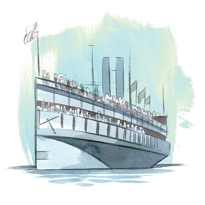 illustration of a ship