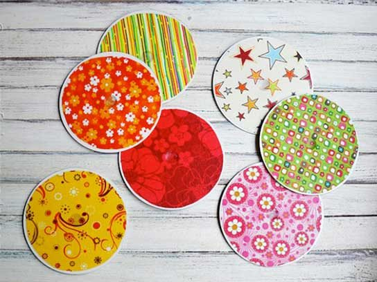 Craft ideas to Recycle old CD's into Fantastic Crafts? How To