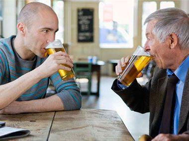 Beer Tasting Dad