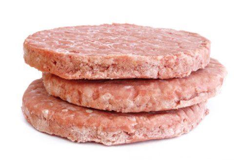 Pre-formed meat patties