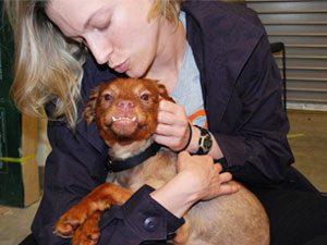 Kristen Collins with toefu