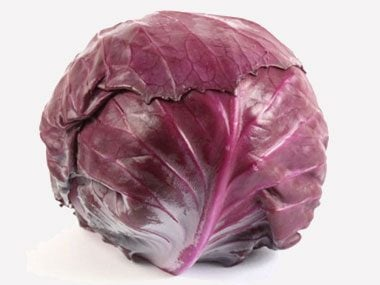 Natural Easter Egg Dye #9: Red cabbage