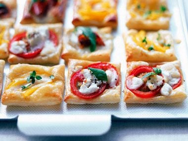 Mini Puff-Pastry Tartlets