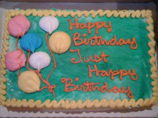 Bad Cake Decorating Decisions Reader