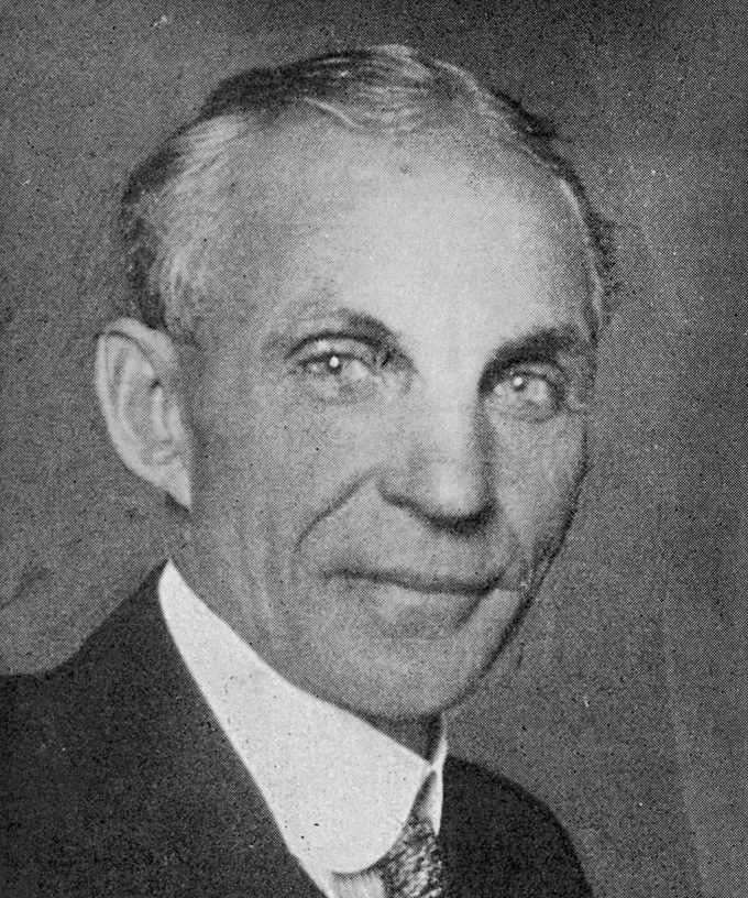 Historical Collection 7 Henry Ford - American Automobile Manufacturer 1863 - 1947