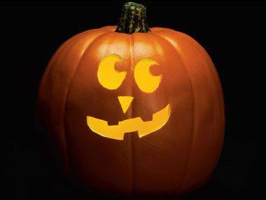 Pumpkin Pattern #8: Lopsided Grin