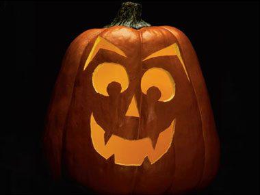 Pumpkin Pattern #12: Death's Head