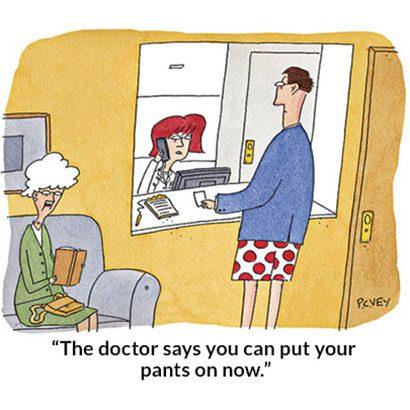 Medical Care Cartoons - Funny Doctor Cartoons | Reader's Digest