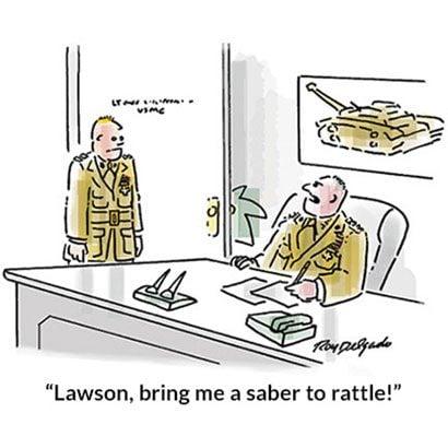 Military Nervous Habit