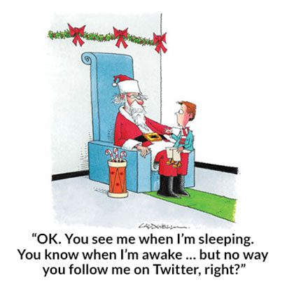 John Caldwell For Readeru0027s Digest. As This Christmas Cartoon ...