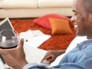 If the thought of buying a bottle of wine is daunting, go online for recommendations.