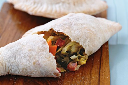 Corned Beef and Cabbage Calzones
