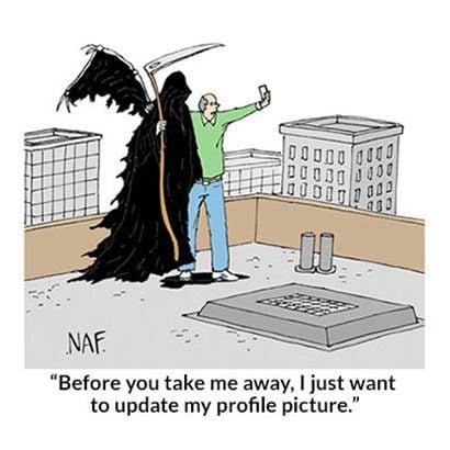 The Grim Retweeter