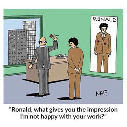 Unhappy Boss