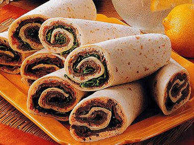 Beef 'n' Cheese Wraps