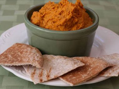 Slow-Roasted Tomato Hummus