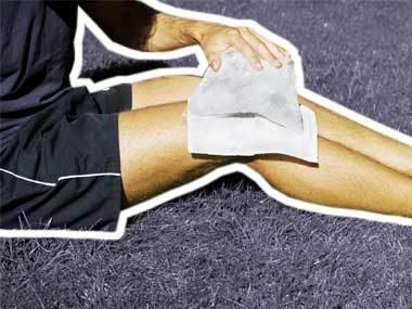first aid mistakes cold on sprain