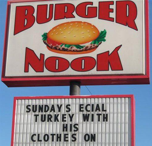 Dressed Up Turkey Dinner