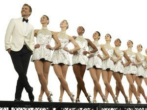 the rockettes and derek hough