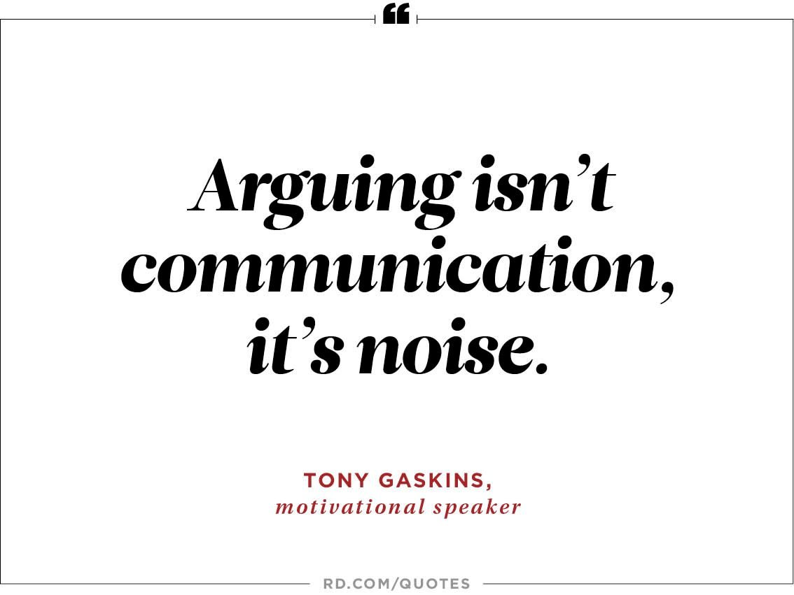 10 Wise Quotes To Stop Arguments Readers Digest