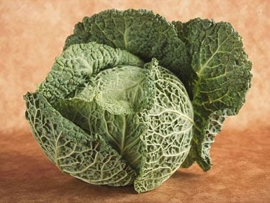 1) Green Cabbage