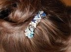 jewelry statement hair clip