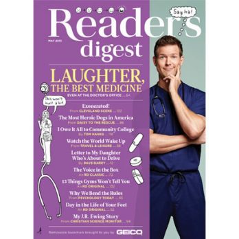 Dr. Travis Stork Gets Silly: Outtakes From the May 2015 Reader's Digest Cover Shoot