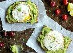 decadent toast snacks fried egg