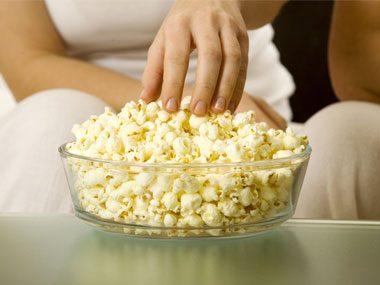 white teeth popcorn