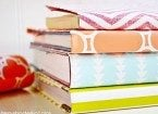 wrapping paper wrapped books