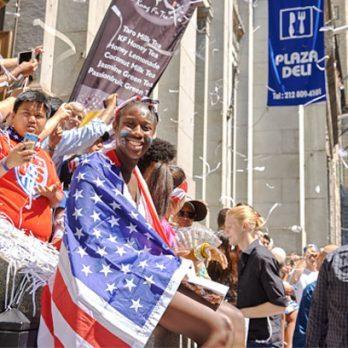 U-S-A! 17 Heartwarming Photos from the U.S. Women's Soccer Ticker-Tape Parade