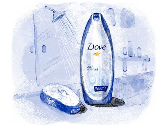 Most Trusted Soap/Body Wash: Dove