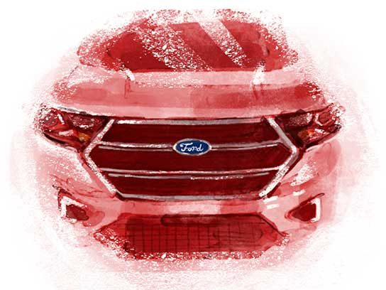 Most Trusted Automobile (Domestic): Ford