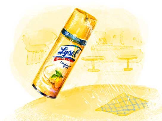 Most Trusted Cleaning Product: Lysol