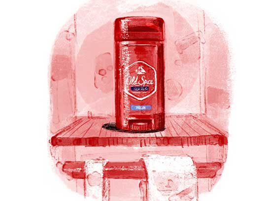 Most Trusted Men's Deodorant/Antiperspirant: Old Spice