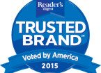 Readers Digest Trusted Brands Badge